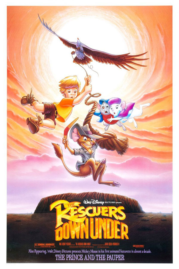 The Rescuers Down Under (De Reddertjes in Kangoeroeland)