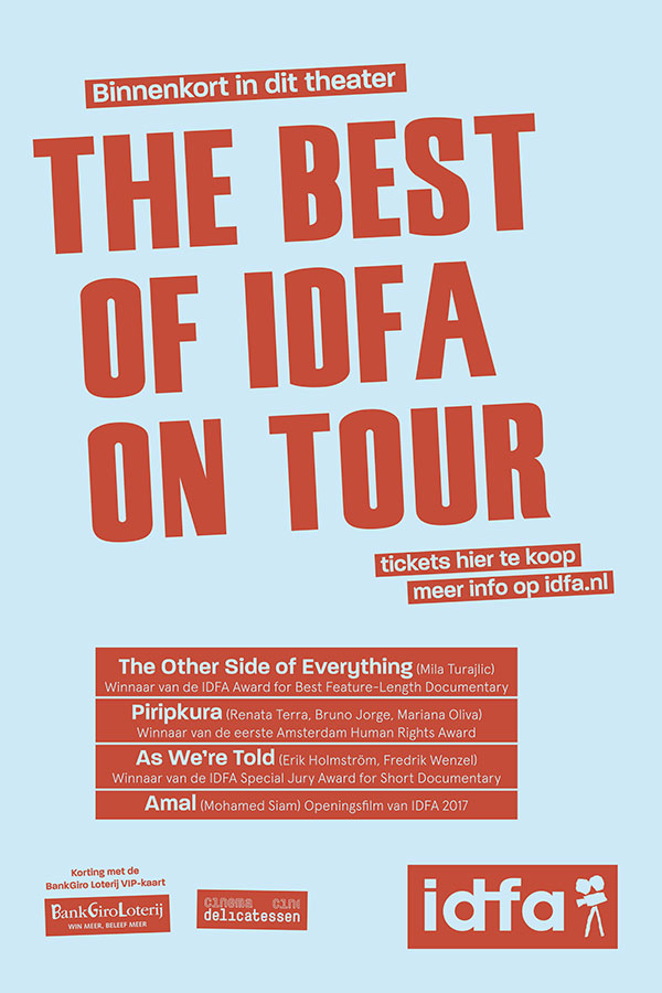 The Best of IDFA on Tour 2017-2018